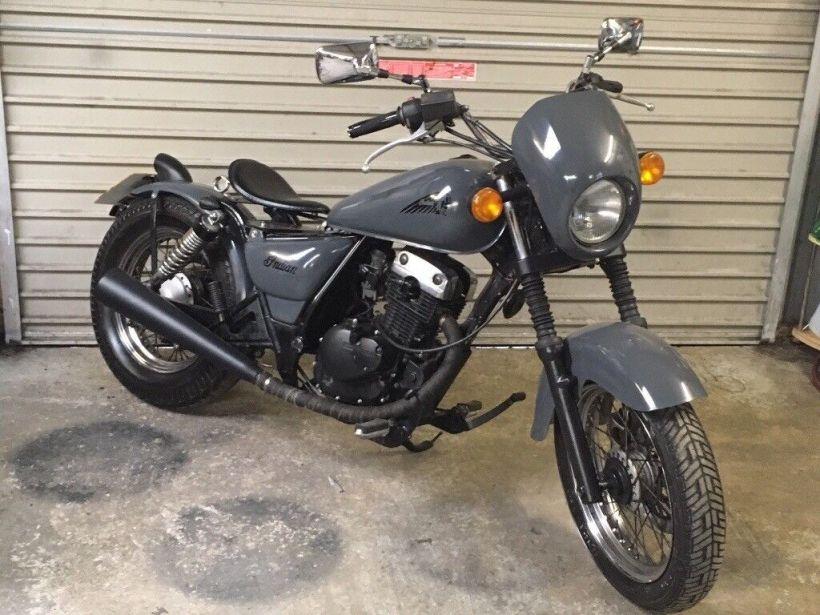 Suzuki 125 Marauder Bobber | Kayamotor co
