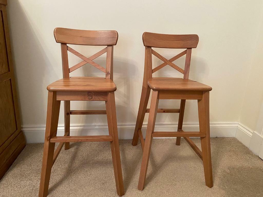 Ikea Kids Kitchen Chairs X 2 In Craigleith Edinburgh Gumtree