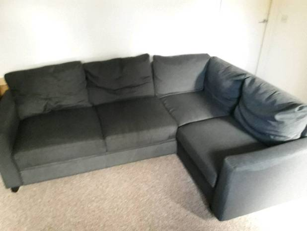 Corner Sofa Bed In Very Good Condition Grey Plymouth Devon Gumtree