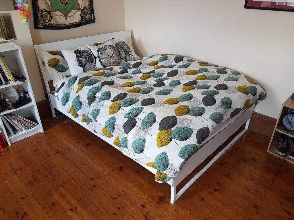 King Size Bed Ikea Trysil Bed Frame With Ikea Hovag Pocket