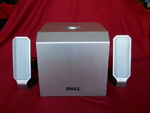Dell A525 Zylux Multimedia Computer Speaker System w