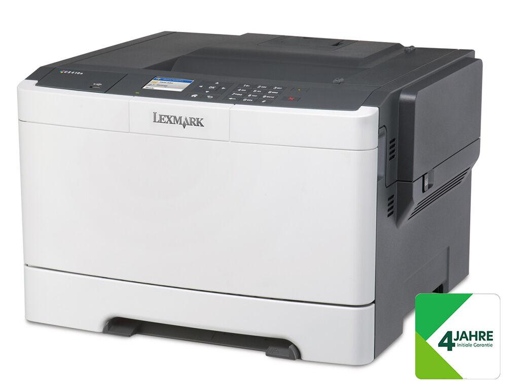 LEXMARK CS417dn Farblaser-Drucker - NEUWARE - leichten Verpackungsschaden -