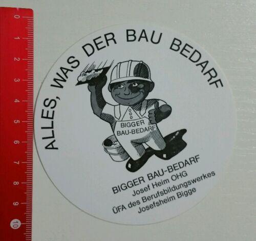 Aufkleber/Sticker: Bigger Bau Bedarf (300416109)