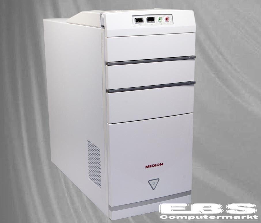 Medion PC Desktop Gehäuse für Micro-ATX Board,Cardreader WLan Datenhafen2 B-Ware