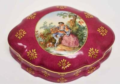 boxes antique limoges box porcelain