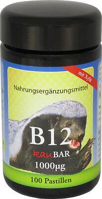 Robert Franz Vitamin B12 - 1000μg - 100 Pastillen als Lutschtabletten