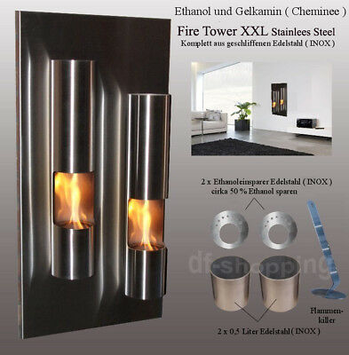 Gel- und Ethanol-Kamin Fire-Tower / gelkamin ethanolkamin bioethanol fireplace