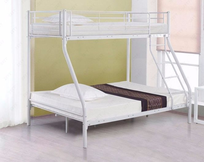 70 Off Brand New Triple Metal Bunk Bed With 2 X 9inch Thick