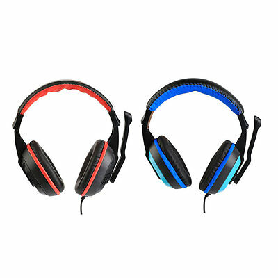 3.5mm Adjustable Gaming Headphones Stereo Noise-canceling Computer Headset MZ