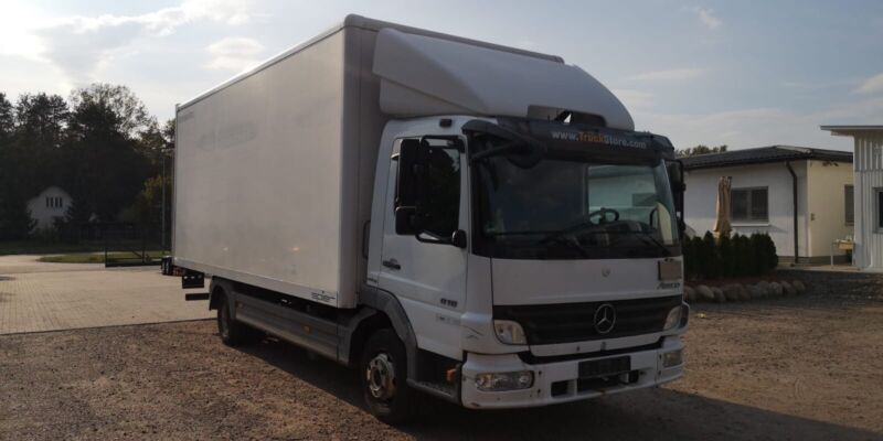 Mercedes-Benz Atego 818L 4x2*Ladebordwand*Klima*2.Hd*