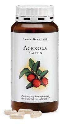 300 Acerola Kapseln von Sanct Bernhard (1 Dose), Vitamin C, Acerola-Kirsche