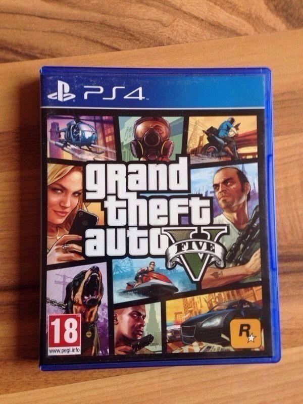 GTA V 5 PS4 In Mile End London Gumtree