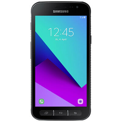 Samsung G390F Galaxy Xcover 4 black Outdoor-Smartphone 5 Zoll Android
