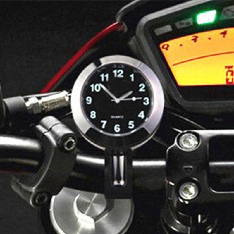 Digital Lenkeruhr Wasserdicht Handlebar Uhr Uhrgesicht für Motorrad Fahrrad NEU