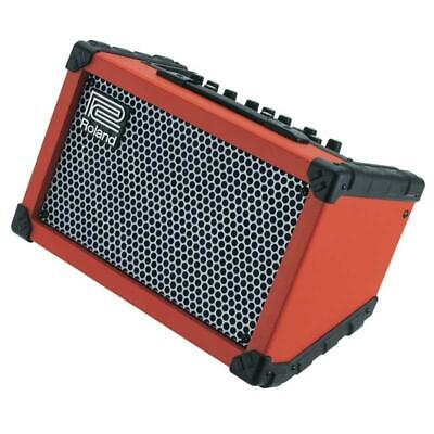Roland Cube Street Battery-Powered Practice Amp, Red
