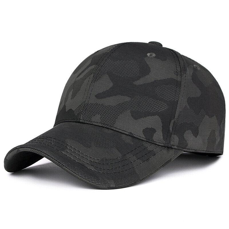 Camouflage Basecap Herren Damen Baseball Cap Schirmhut Golfcap Kappe Snapback DE