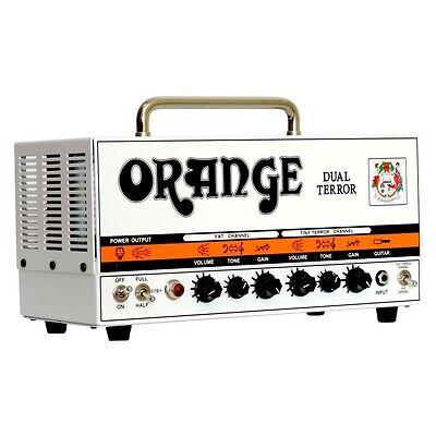 ORANGE DUAL TERROR 30W ALL-VALVE TWIN CHANNEL GUITAR AMP / AMPLIFIER HEAD - NEW!