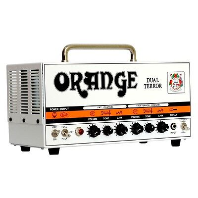 ORANGE DUAL TERROR 30W ALL-VALVE TWIN CHANNEL GUITAR AMP / AMPLIFIER HEAD - NEW!