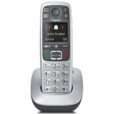 Gigaset E560 Festnetztelefon Großtasten Schnurlostelefon mit Notruftaste