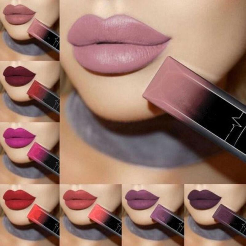 Hot Matt Lippenstift Wasserdicht Lippen Make-up Long Lasting Lippenstifte Beauty