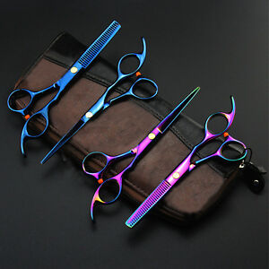 Professional Hair Scissors Cutting Thinning Stainless Steel Practical