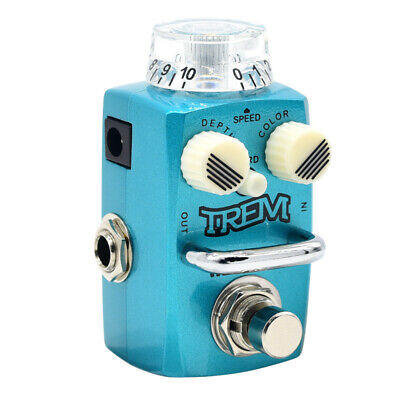 Hotone Skyline Series TREM Compact Analog Tremolo Guitar Effects Pedal STR-1