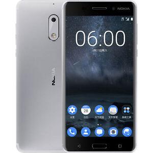 New Nokia 6 64GB/4GB RAM Android 7.0 Dual SIM Unlocked (HK Version) - Silver