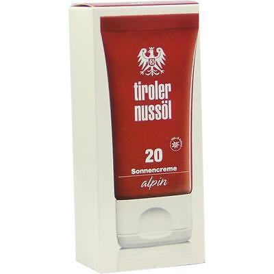 TIROLER NUSSOEL Alpin Sonnencreme LSF 20   40 ml   PZN723715