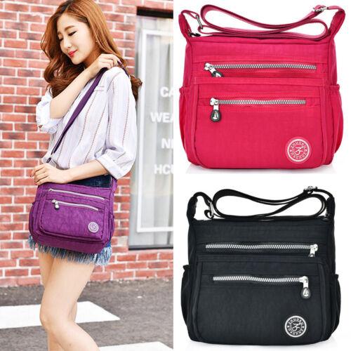 US Women Tote Messenger Cross Body Handbag Hobo Bag Ladies Shoulder Bag Purse 2