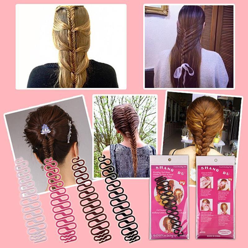 Stylinghilfe Frisurenhilfe Twister Haardreher Topsy Tail Flechthilfe Flechten