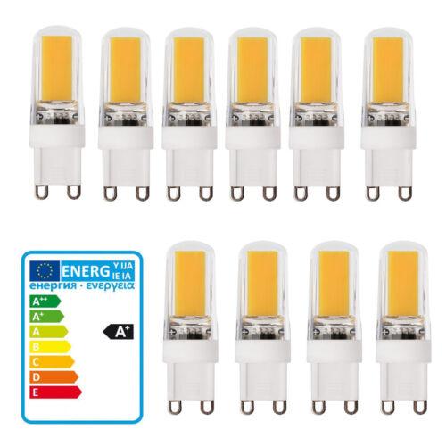 G9 COB Dimmbar 9W LED Lampe Birne Leuchtmittel Warmweiß AC 220-240V