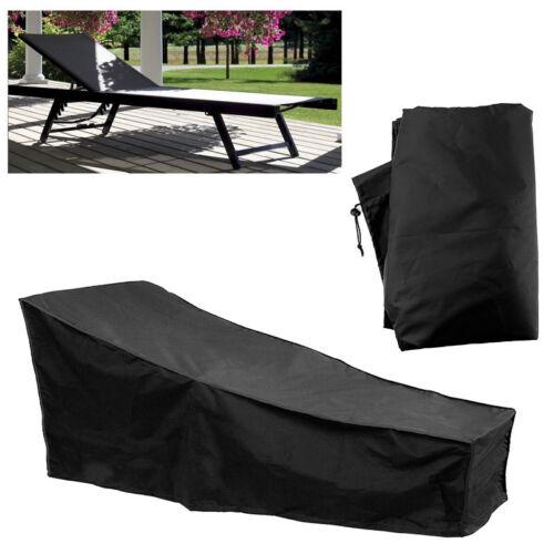 63 Zoll Schutzhülle Abdeckung für Gartenliege Sonnenliege Liegestuhl Gartenmöbel