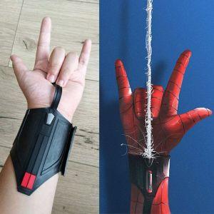 Superhero SpiderMan Web Shooter Cosplay Props Spider-Man: Homecoming Peter