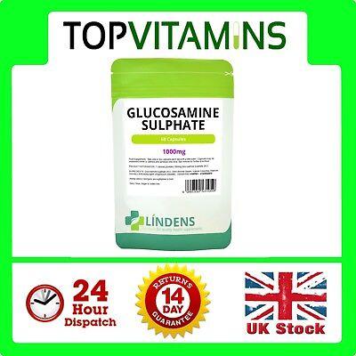 Glukosamin 1000 mg 60 Kapseln✰Gelenkgesundheit Ergänzung✰Hilfen Schmerzen