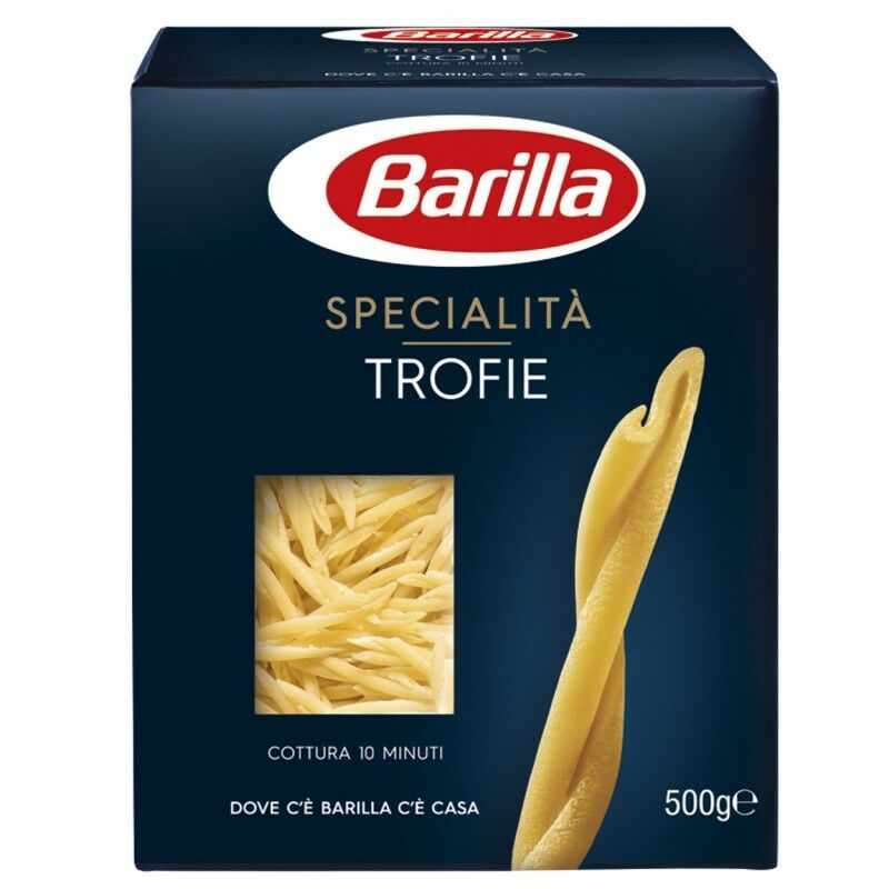 10x Pasta Barilla Specialità Trofie liguri italienisch Nudeln 500 g pack