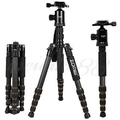 Z699C Light Weight Carbon Fiber Tripod Monopod&Ball Head Stand For Nikon Camera