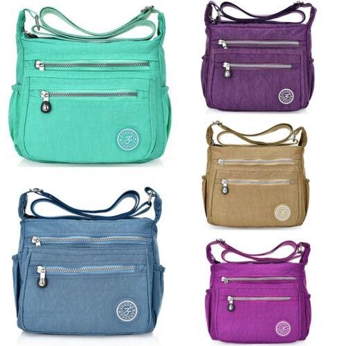 US Women Tote Messenger Cross Body Handbag Hobo Bag Ladies Shoulder Bag Purse 4