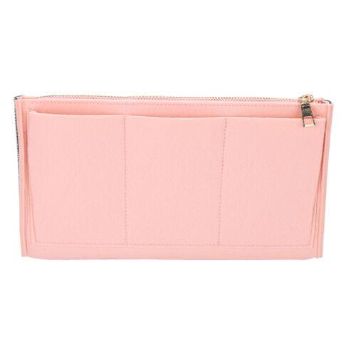 Felt Purse Handbag Organizer Insert - Multi pocket Storage Tote Shaper Liner Bag 9