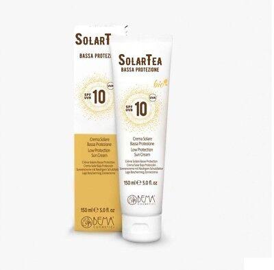 SolarTea BEMA - Sonnencreme LSF 10 (150 ml)- mit mineralischen UV-Filtern