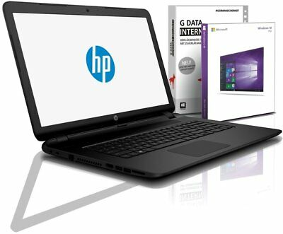 HP Notebook 17 Zoll HD+ Dual Core 2x2,6 GHz 4GB DDR4 1TB Win10 / Libre Office