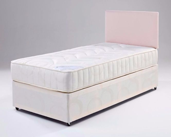 Single Divan Bed With Orthopedic Mattress We Do Double