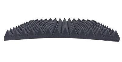 Dibapur (B-Ware) Pyramiden Akustik Schaumstoff Schall Dämmung 1 Stk ca 50x50x5cm
