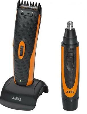 AEG Bartschneider Haarschneider+Nasenhaarschneider Haarschneidemaschine Trimmer