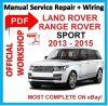 # OFFI WORKSHOP MANUAL service repair FOR LAND ROVER RANGE ROVER 2013-2015 SPORT