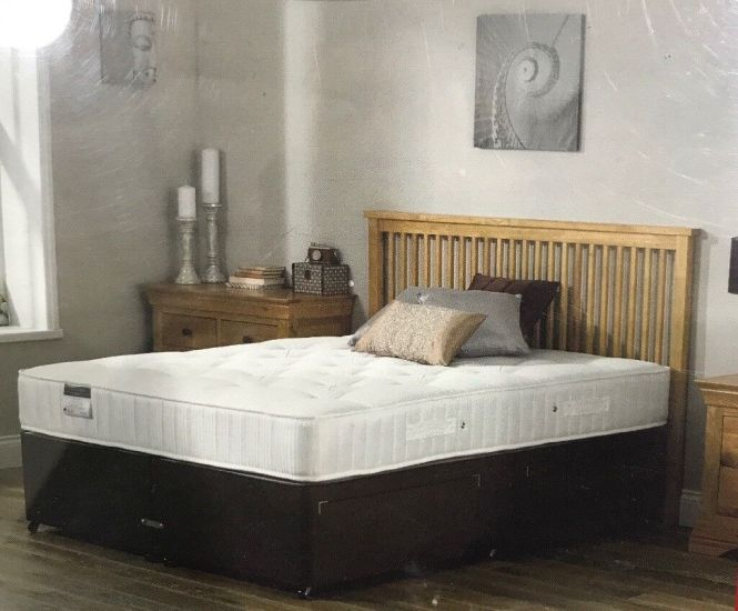 Brand New Divan Double Bed And Orthopedic Mattress