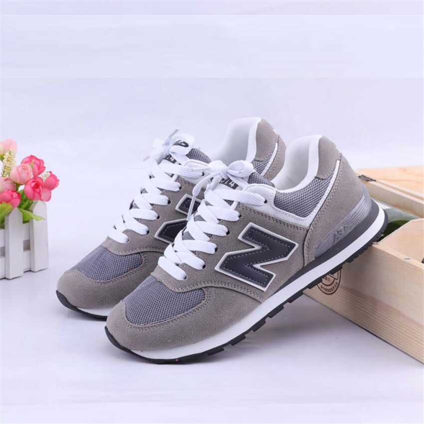 New Balance ML574 Schuhe Herren Sneaker Sportschuhe Turnschuhe Herbst Grau SALE