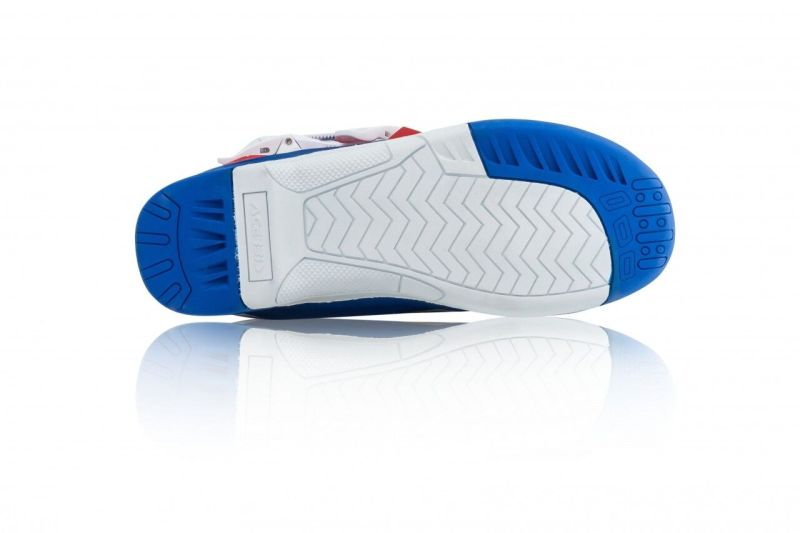 stivali cross enduro Acerbis X-Team colore blu bianco 0022999.245 1