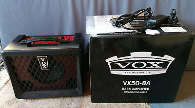 Vox VX50-BA 50W Compact Bass Guitar Amplifier with NuTube Vacuum Tube - Boxed