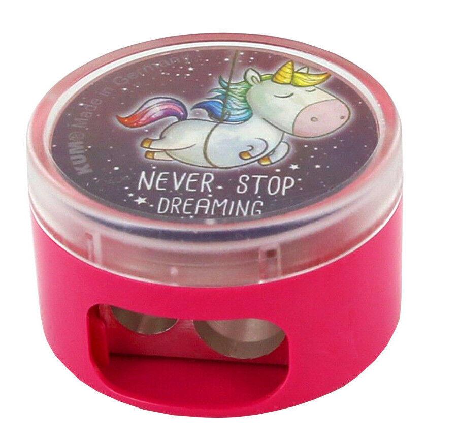 Einhorn Doppel Anspitzer / Lineal 15 cm zur Auswahl Never Stop Dreaming Unicorn