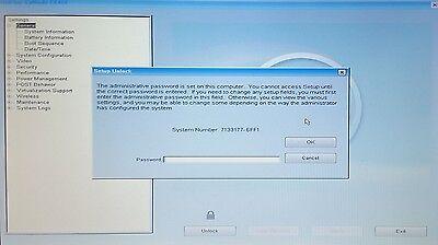DELL E5440 E5450 E5540 E6440 E6540 E7240 E7440 E7450 1F66 BIOS HDD PASSWORD